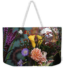 Flowers From My Window Weekender Tote Bag