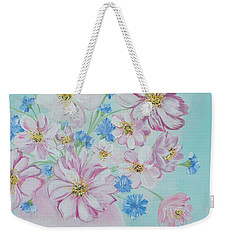 Flowers In A Vase. Inspirations Collection Weekender Tote Bag