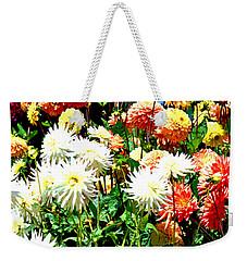 Flowers In Bloom Weekender Tote Bag
