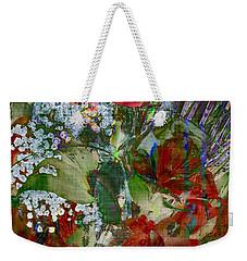 Flowers In Bloom Weekender Tote Bag by Liane Wright
