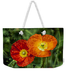 Flowers In Kodakchrome Weekender Tote Bag