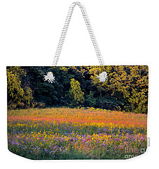 Flowers In The Meadow Weekender Tote Bag by Deb Halloran