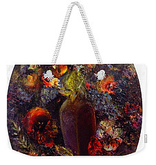 Flowers In Vase Weekender Tote Bag