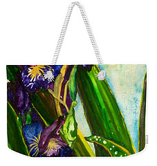 Flowers In Your Hair II Weekender Tote Bag