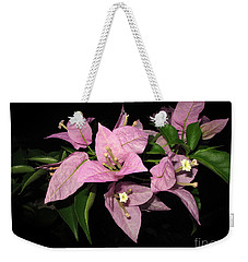 Weekender Tote Bag featuring the photograph Flowers Island Lembongan by Sergey Lukashin