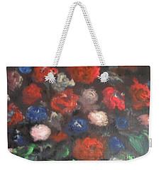 American Floral Weekender Tote Bag