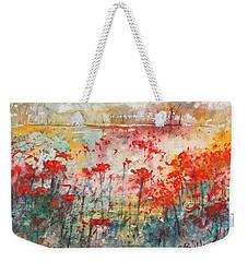 Flowers Never Worry Weekender Tote Bag