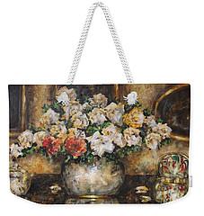 Flowers Of My Heart Weekender Tote Bag