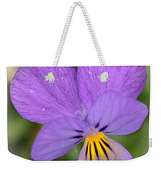 Weekender Tote Bag featuring the photograph Flowers That Smile by Kerri Farley