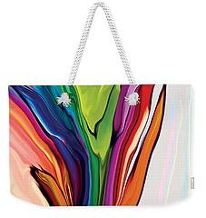 Flowery 5 Weekender Tote Bag by Rabi Khan