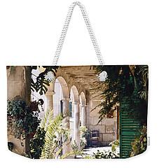 Flowery Majorquin  Patio In Valdemosa Weekender Tote Bag
