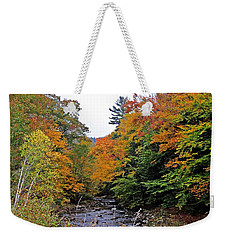 Flowing Into October Weekender Tote Bag