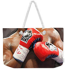 Floyd Mayweather Artwork Weekender Tote Bag