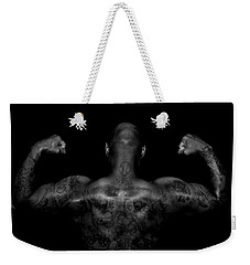 Body Art Weekender Tote Bag