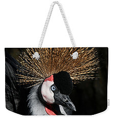 Fluffy Weekender Tote Bag by Judy Whitton