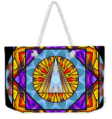 Fluid Transformation Weekender Tote Bag