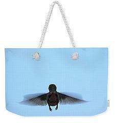Fly Away Home Little Hummingbird Weekender Tote Bag