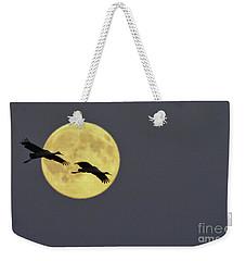 Moonlight Flight Weekender Tote Bag