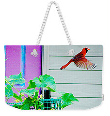 Fly By Weekender Tote Bag by Lizi Beard-Ward