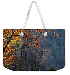 Weekender Tote Bag featuring the photograph Fly Fisherwoman by Denise Romano