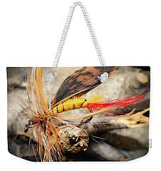 Fly Fishing 2 Weekender Tote Bag by Jennifer Muller