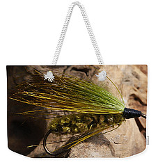Fly Fishing  Weekender Tote Bag by Jennifer Muller