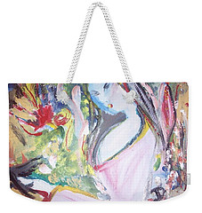 Fly Free Weekender Tote Bag by Judith Desrosiers