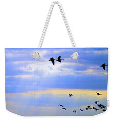 Fly Like The Wind Weekender Tote Bag by Robyn King