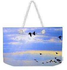 Fly Like The Wind Weekender Tote Bag