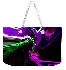 Purple Rain Homage To Prince Original Abstract Art Painting Weekender Tote Bag