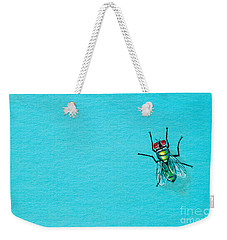Fly On The Wall Weekender Tote Bag by Stefanie Forck