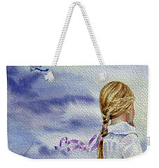 Fly With Us Weekender Tote Bag
