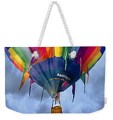 Flyin The Coop II Weekender Tote Bag by Betsy Knapp