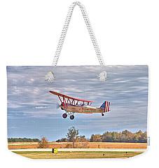 Flying Circus Barnstormers Weekender Tote Bag by Gordon Elwell