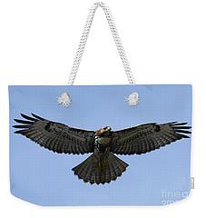 Flying Free - Red-tailed Hawk Weekender Tote Bag