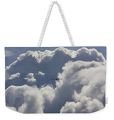 Flying Into The Storm Weekender Tote Bag