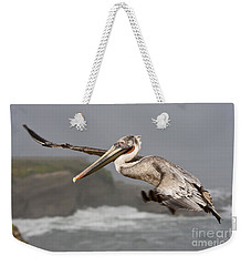 Flying Over La Jolla Weekender Tote Bag