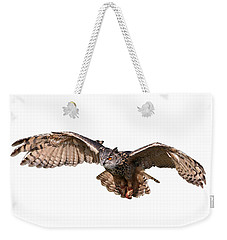Flying Owl Weekender Tote Bag