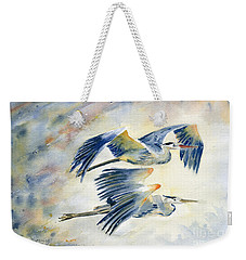 Flying Together Weekender Tote Bag by Melly Terpening