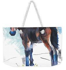 Foal Painting Weekender Tote Bag