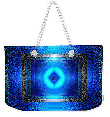 Weekender Tote Bag featuring the photograph Contemporary Artwork by Kellice Swaggerty