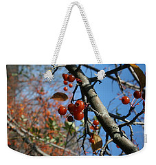 Weekender Tote Bag featuring the photograph Focused by Neal Eslinger