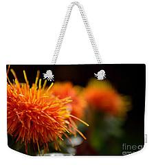 Focused Safflower Weekender Tote Bag