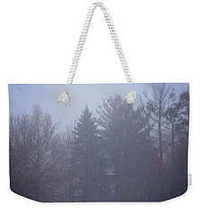 Fog And Mist Weekender Tote Bag