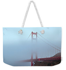 Fog And The Golden Gate Weekender Tote Bag by Jonathan Nguyen