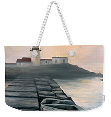 Fog Burning Off Weekender Tote Bag by Eileen Patten Oliver