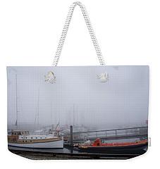 Fog In Marina IIi Weekender Tote Bag