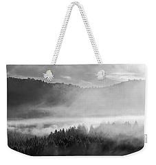 Fog In The Valley Weekender Tote Bag