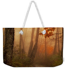 Foggy Autumn Weekender Tote Bag