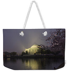 Foggy Morning At The Jefferson Memorial 1 Weekender Tote Bag